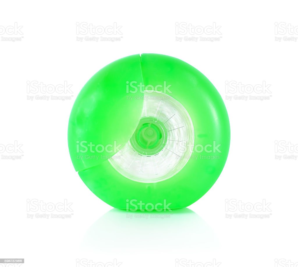 dental floss close up on white foto royalty-free