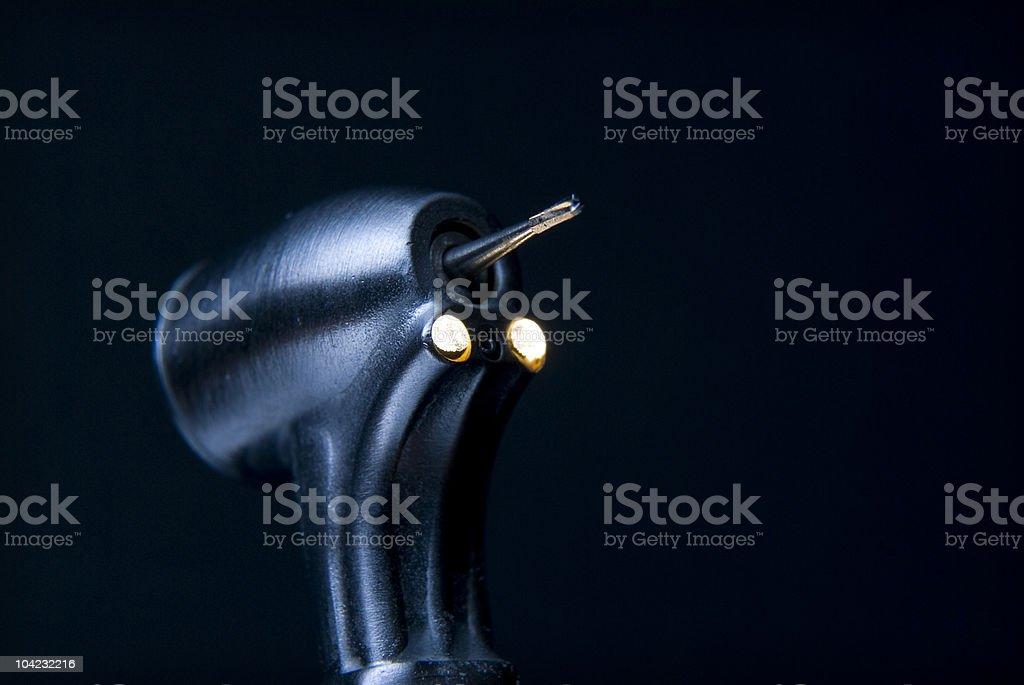Dental High Speed Drill royalty-free stock photo