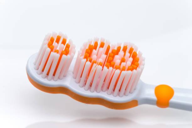 higiene dentária  - escova interdental - fotografias e filmes do acervo