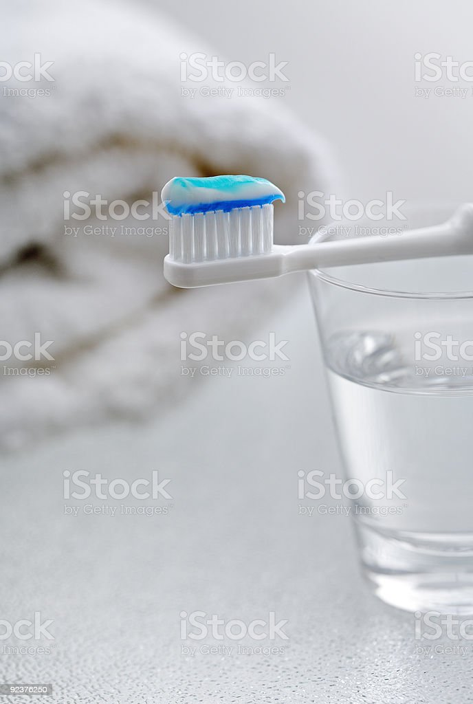 Dental hygiene royalty-free stock photo