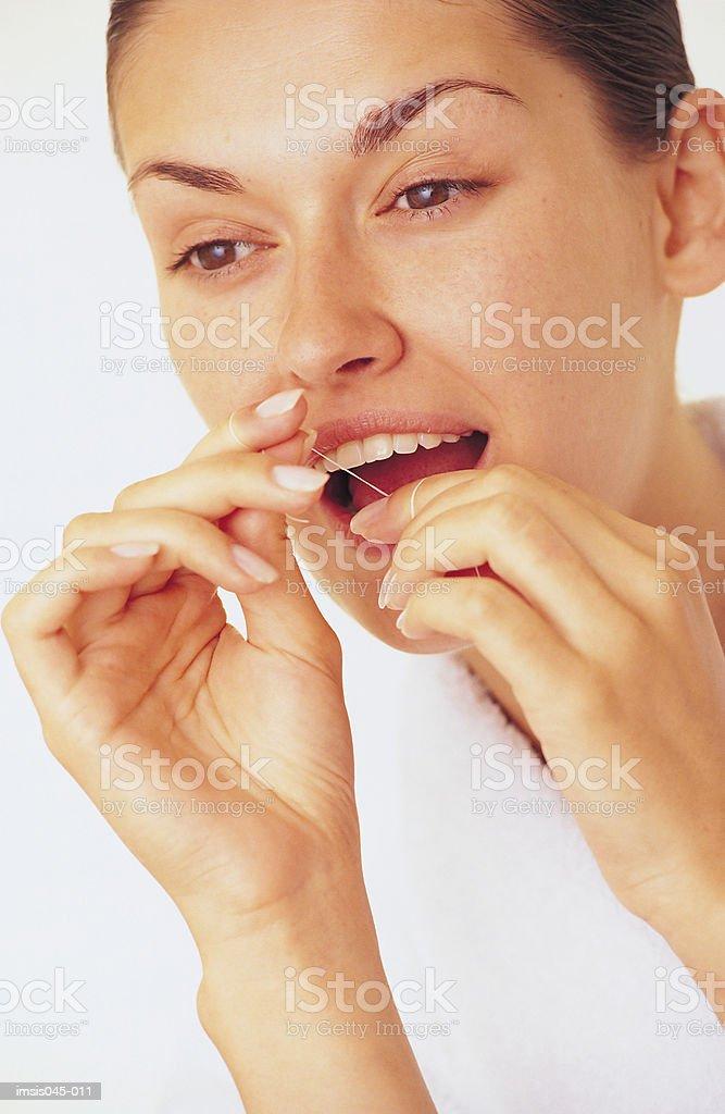 Dental hygiene royalty free stockfoto