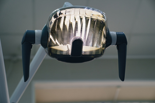 dental lamp. equipment and tools for medical offices.