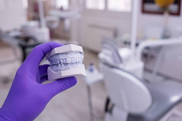 dental - inlay zahn stock-fotos und bilder