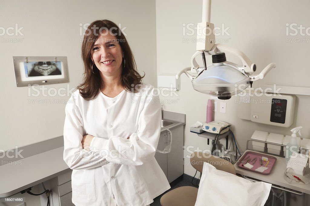 Dental Professional royalty-free stock photo