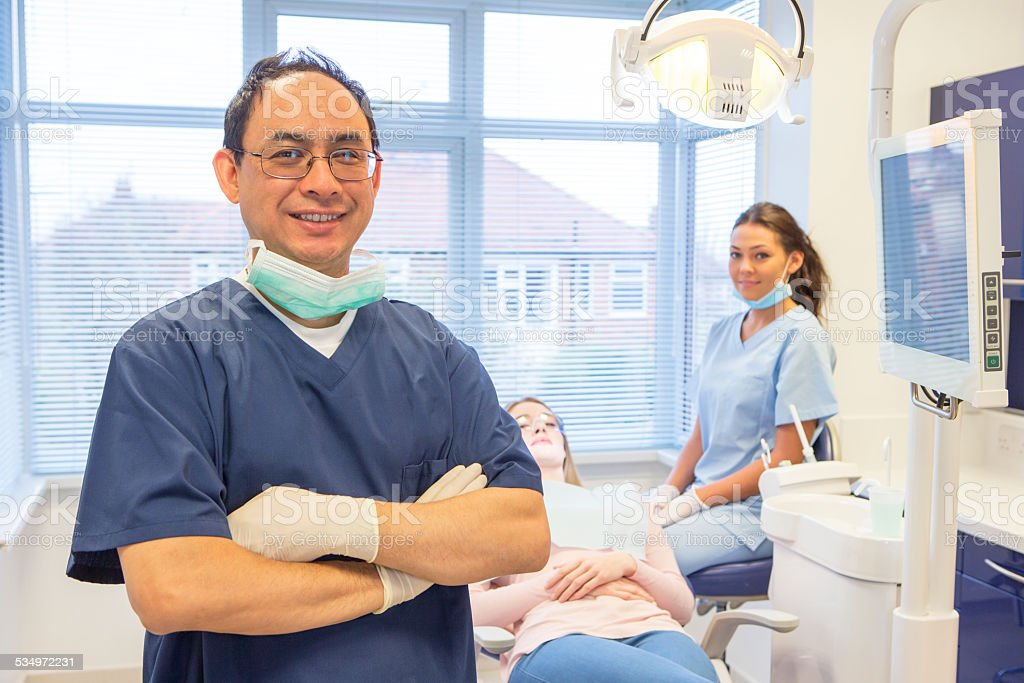 Dental Surgery stock photo