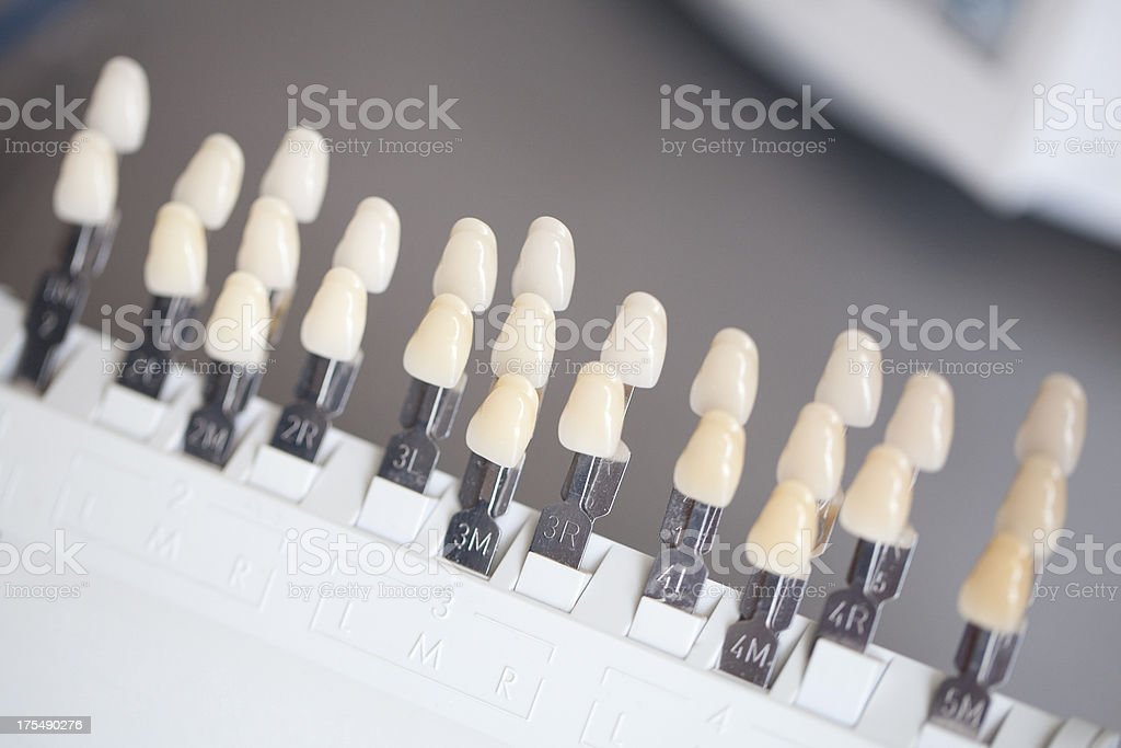 image relating to Tooth Shade Chart Printable known as Suitable Teeth Coloration Chart Inventory Pics, Photographs Royalty-Cost-free