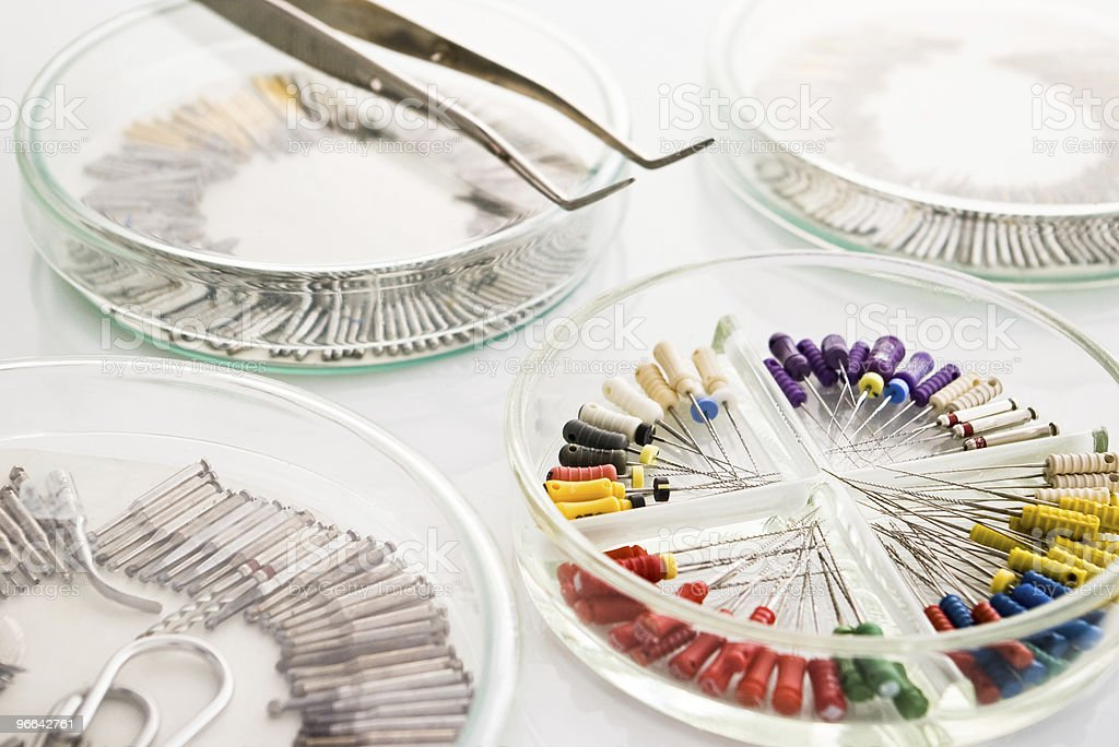 dental tools royalty-free stock photo