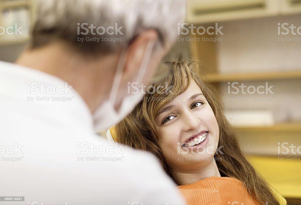 Dental Besuchen Sie Lizenzfreies stock-foto