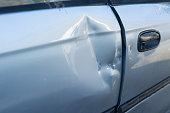 Dented Car Door