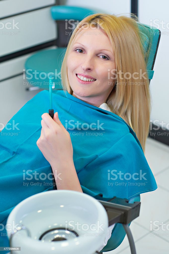 Dentist appointment stock photo