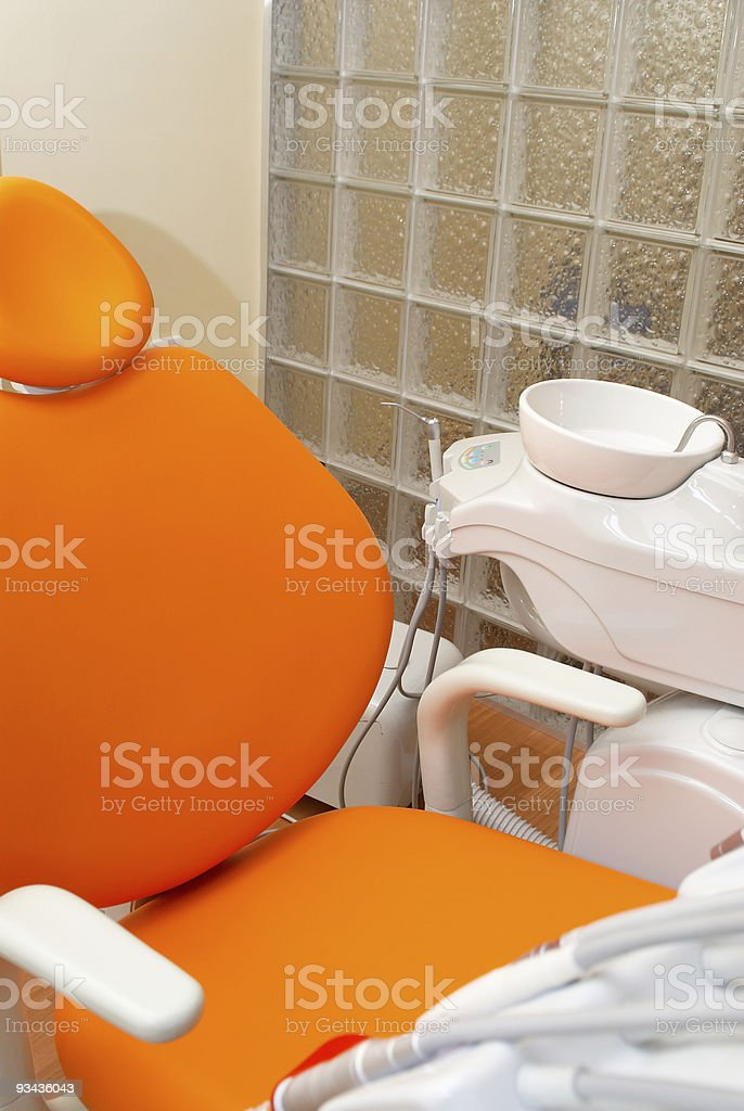 Dentist Chair royalty-free stock photo