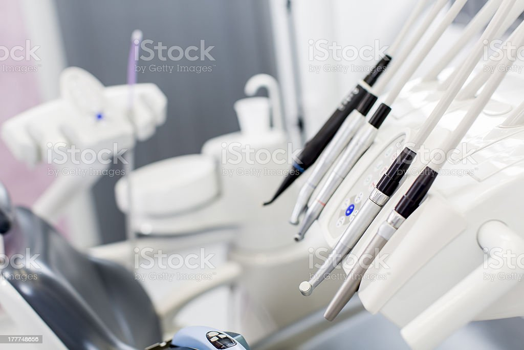 Dentist eqipment royalty-free stock photo