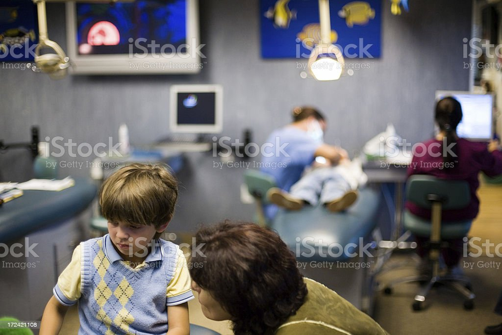 Dentist For Kids royalty-free stock photo