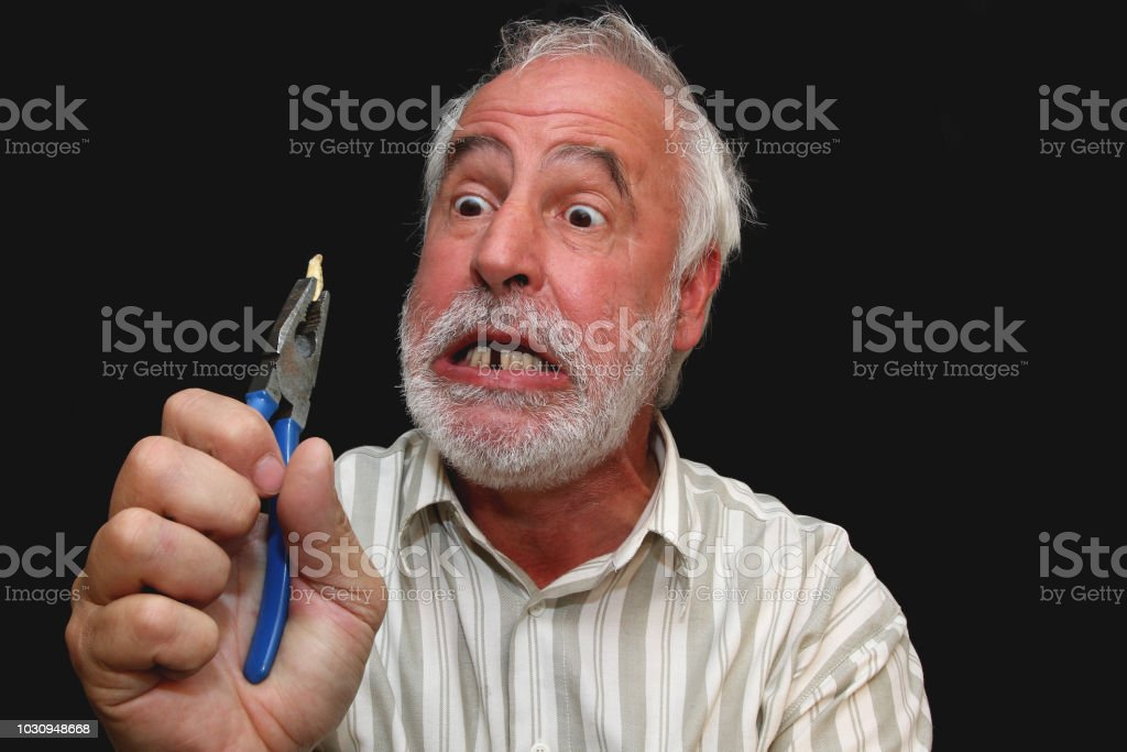 Dentist for what? - Royalty-free Adult Stock Photo