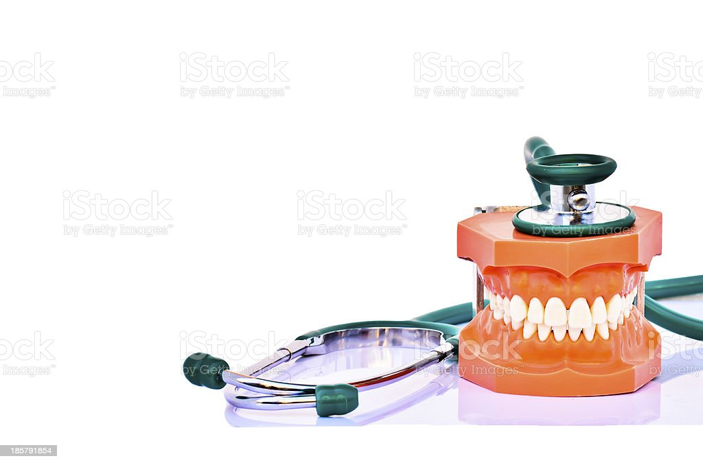 Dentist Health care royalty-free stock photo