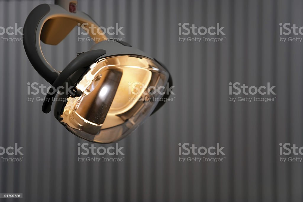 dentist lamp royalty-free stock photo