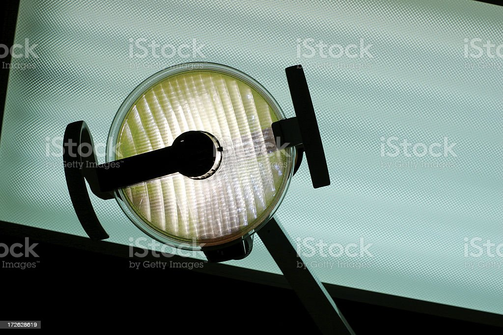 dentist light stock photo