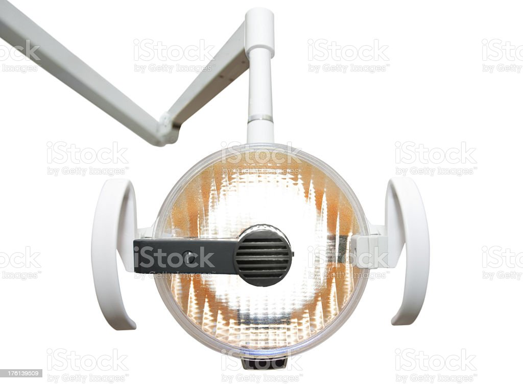 Dentist lights royalty-free stock photo