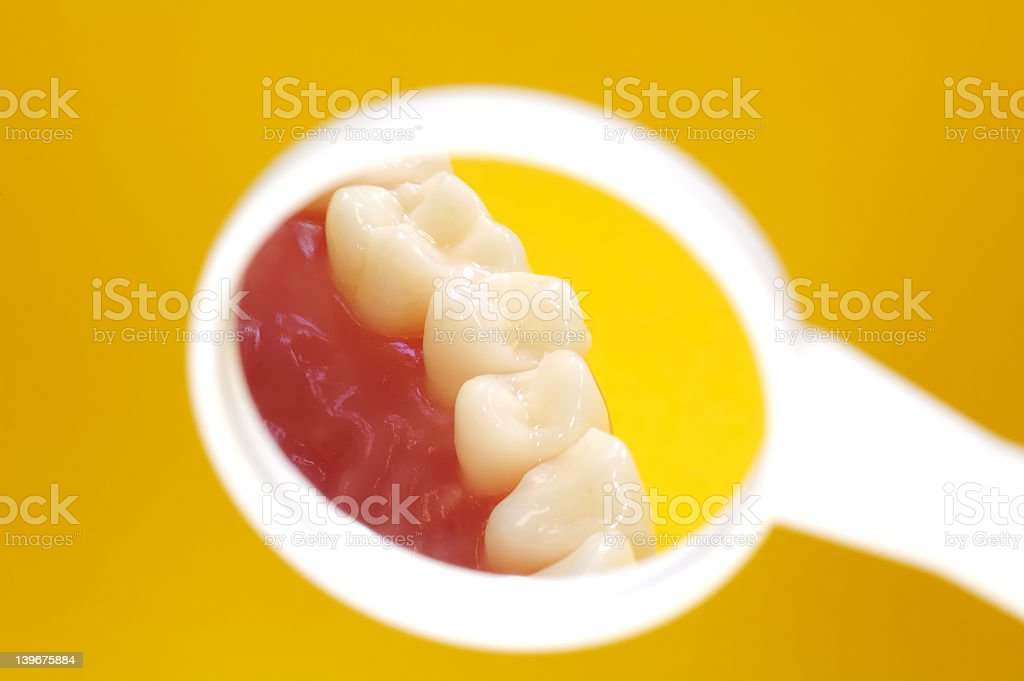 Dentist Mirror royalty-free stock photo