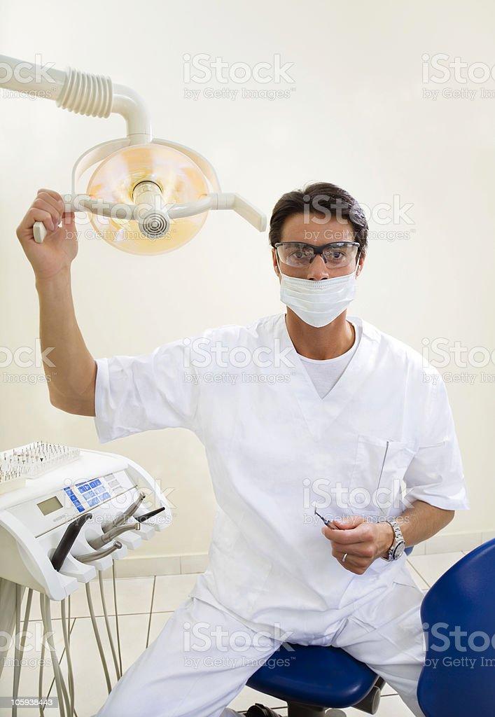 dentist royalty-free stock photo