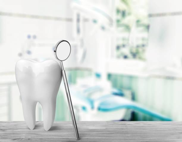 Dentist. stock photo