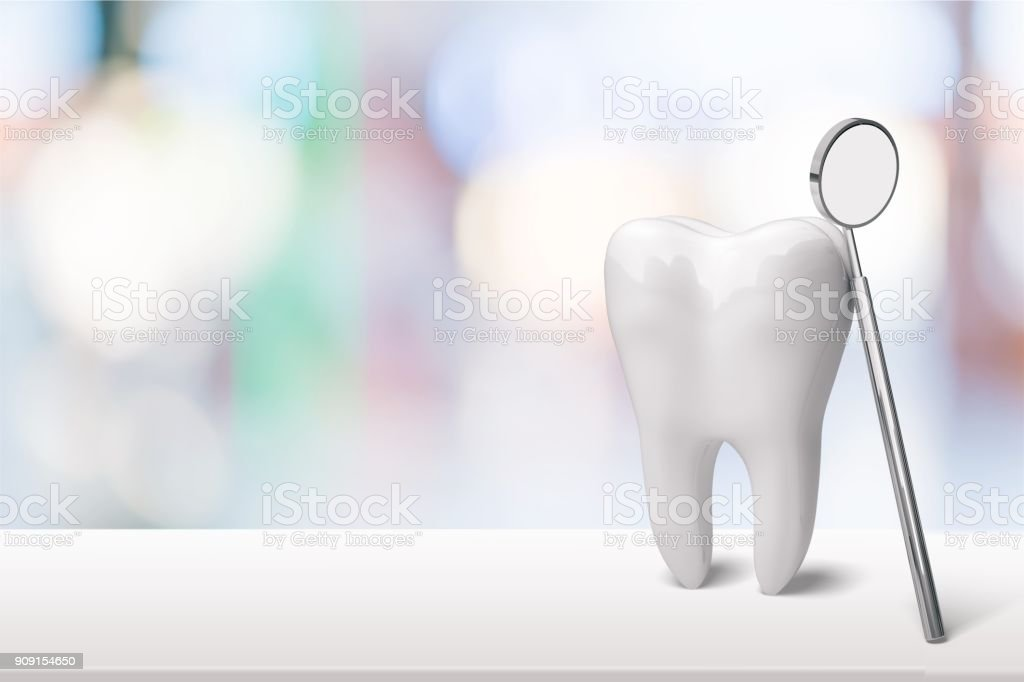 Dentist. stock photo