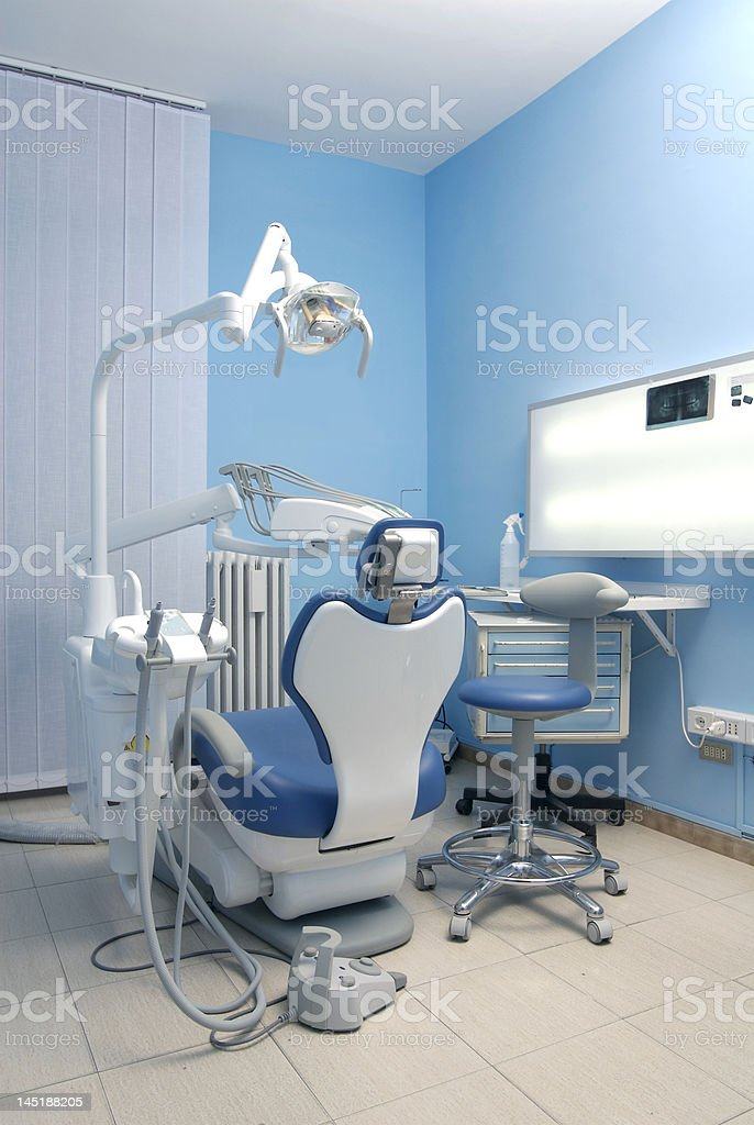 Dentist's chair royalty-free stock photo