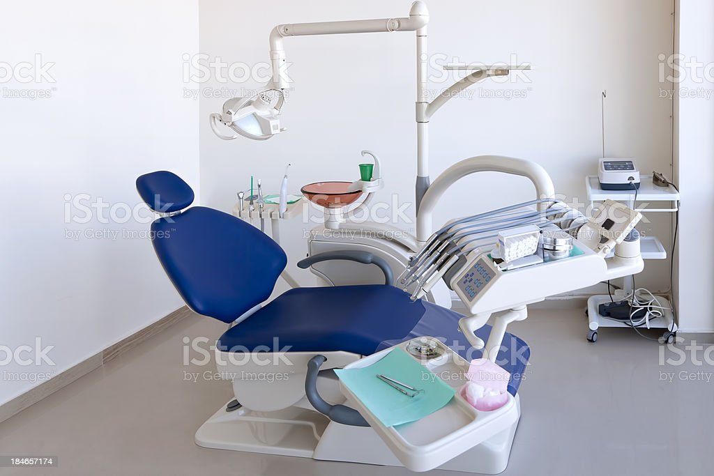 Dentists Chair stock photo