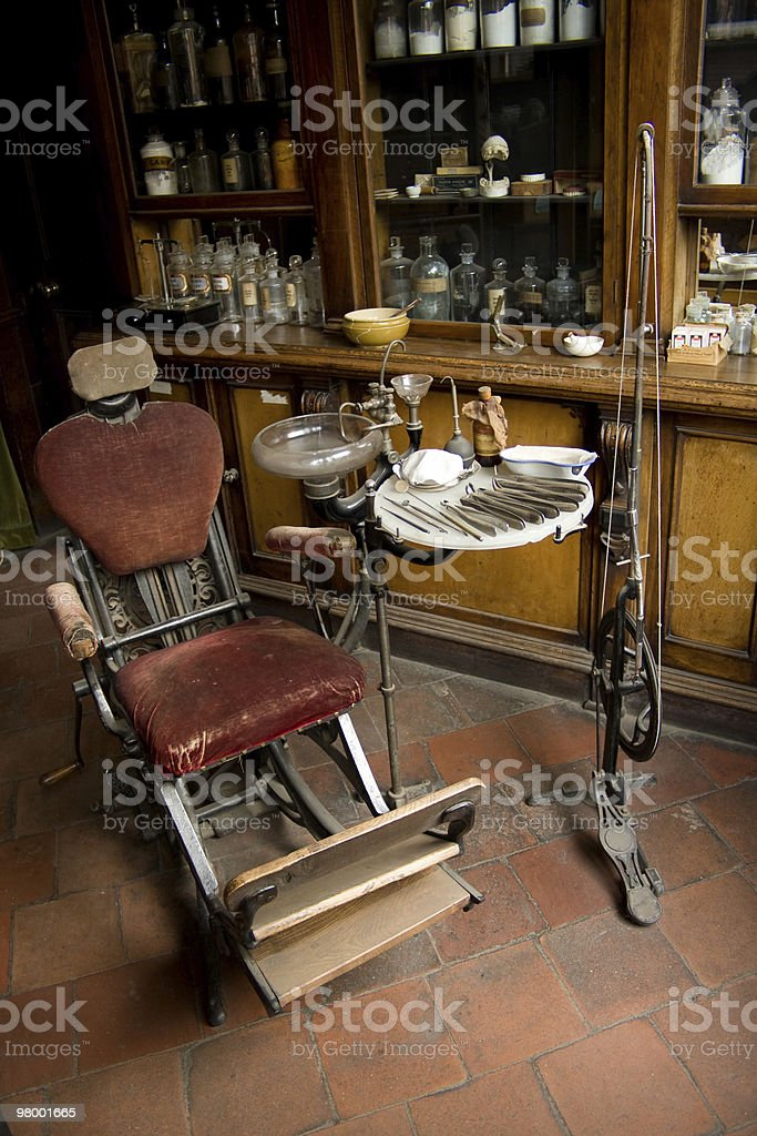 Dentists Chair royalty-free stock photo