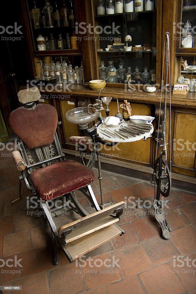 Dentistas cadeira foto royalty-free