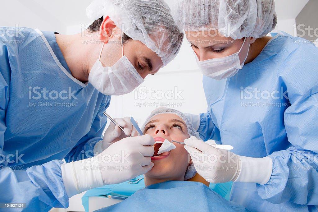 Dentist's surgery royalty-free stock photo