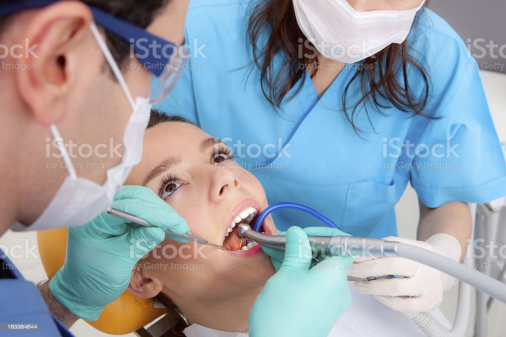 Dentist's surgery royalty-free stock photo