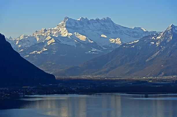 Dents du Mid, Lake Geneva – Foto