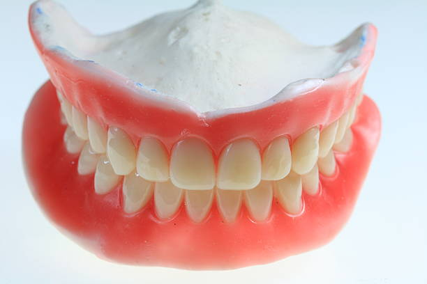 Denture for you. stock photo