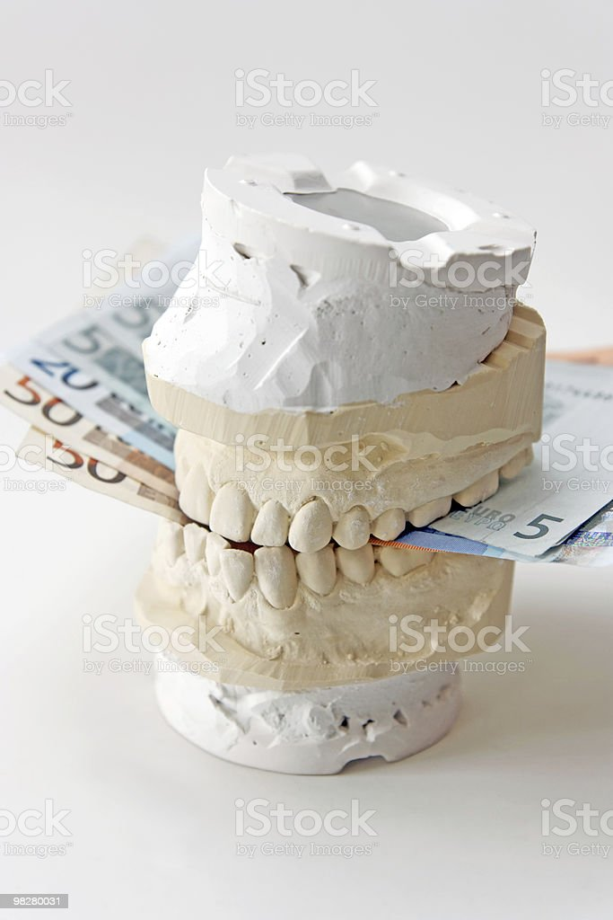 Denture royalty-free stock photo