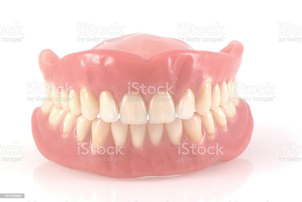 Dentures. stock photo
