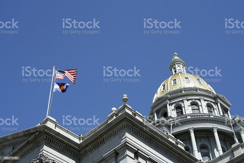 Denver Capitol royalty-free stock photo