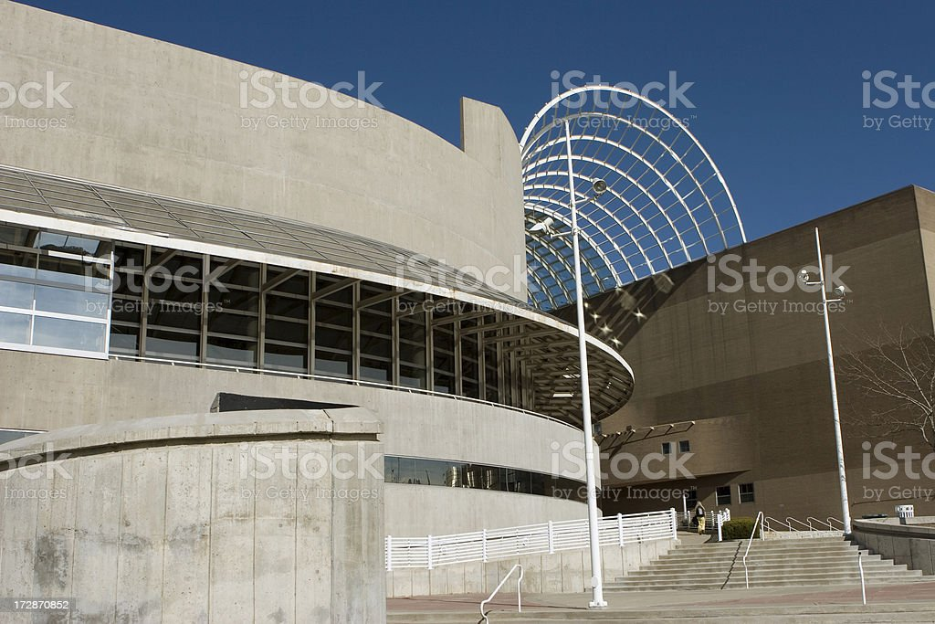 Denver Center for Performing Arts stock photo