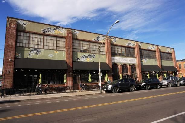 Denver Central Market stock photo