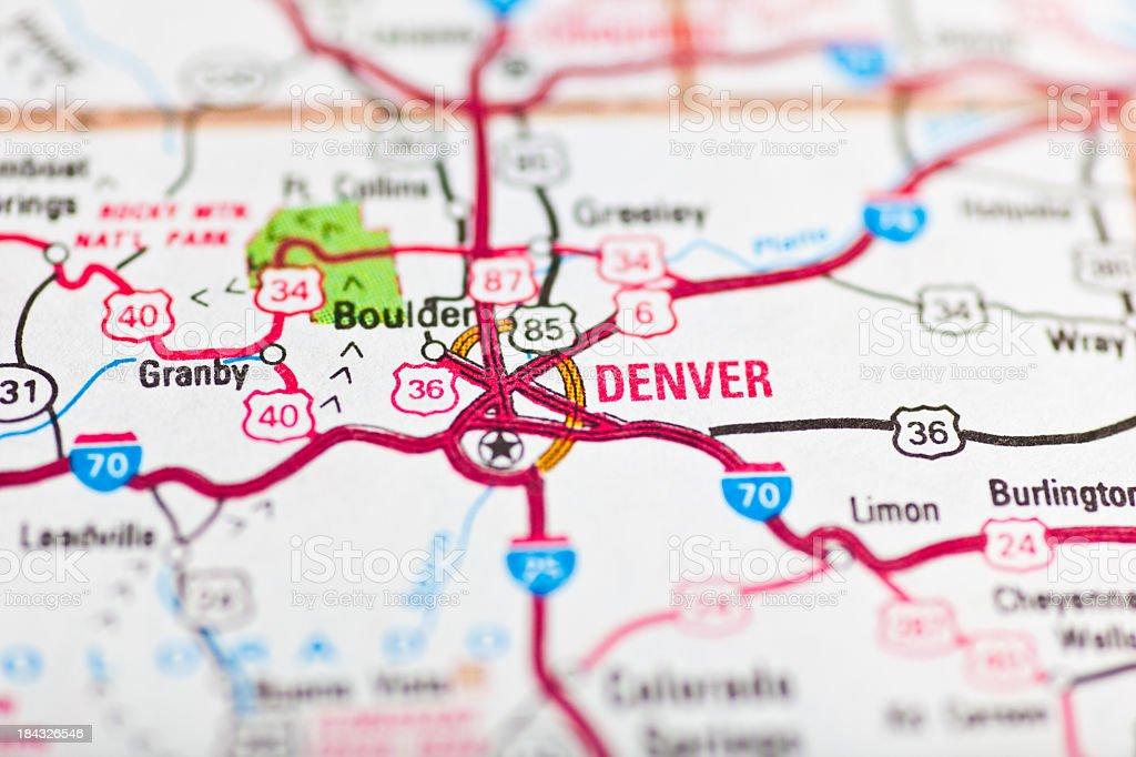 Denver, CO stock photo