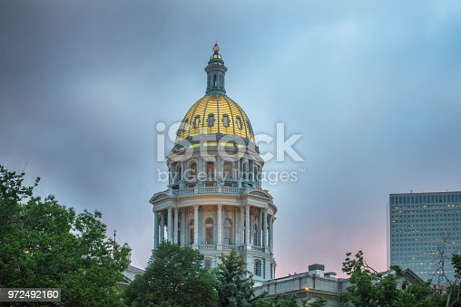 Denver, Capital Cities, Colorado, Built Structure, Gold