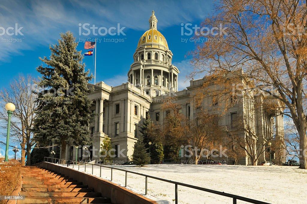Denver Colorado Capital Building Stock Photo Download