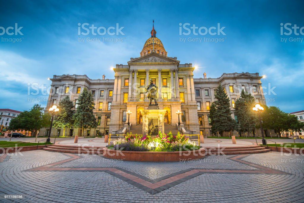 Denver Colorado Capital Building Stock Photo Amp More