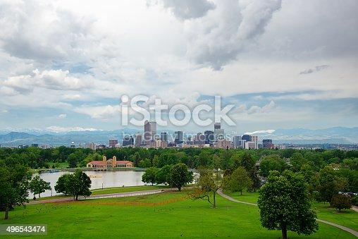 Denver Colorado Downtown Financial District