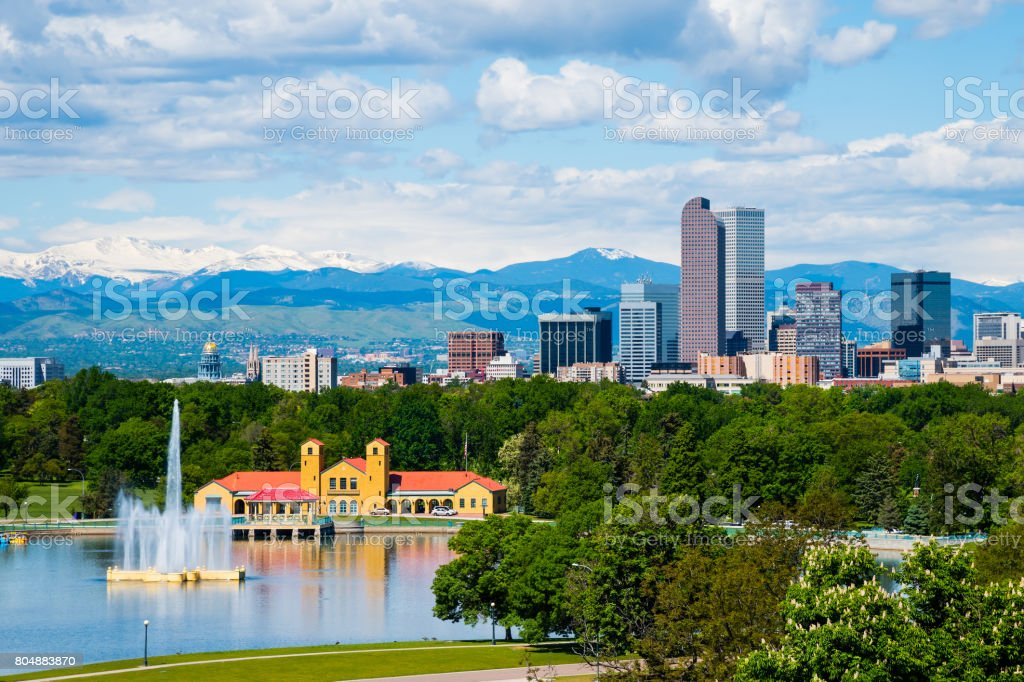 Denver Colorado stock photo