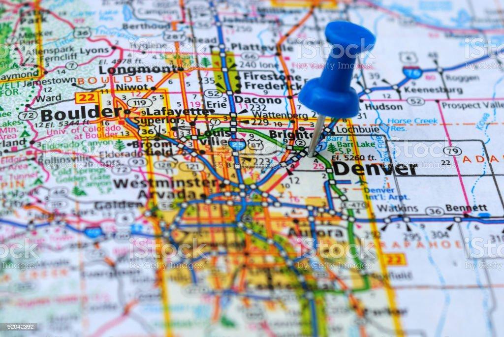 Denver Colorado stock photo
