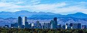 istock Denver Colorado Skyline Against the Rockies 504614640