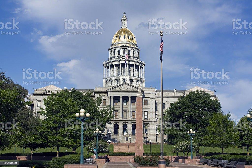 Denver, Colorado - State Capitol stock photo