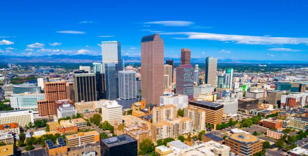 Denver Colorado, die Hauptstadt von The Sunshine State of Colorado – Foto