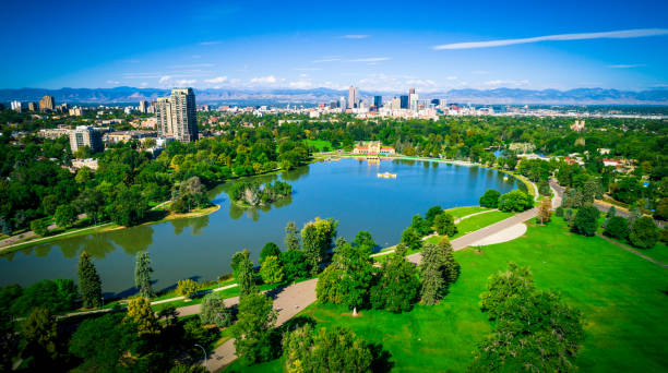 Denver Colorado USA stock photo